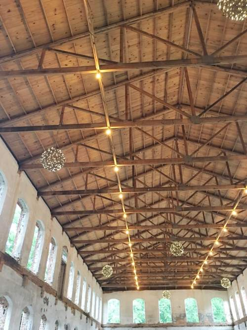 cotton mill ceiling